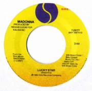 "LUCKY STAR - USA  7"" VINYL (7-29177)"